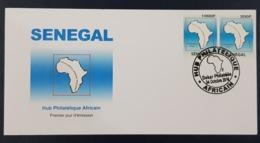 SENEGAL 2016 FDC ENVELOPPE PREMIER JOUR -  JOINT ISSUE AFRICAN HUB  RARE - Sénégal (1960-...)