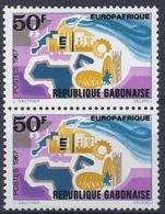 190032126  GABON  FR   YVERT   Nº  218  **/MNH - Gabon (1886-1936)