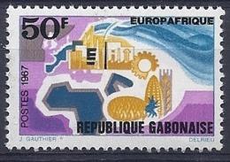 190032127  GABON  FR   YVERT   Nº  218  **/MNH - Gabon (1886-1936)