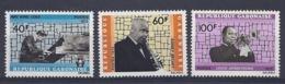 190032130  GABON  FR   YVERT   Nº  294/6  **/MNH - Gabon (1886-1936)