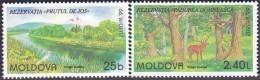 CEPT / Europa 1999 Moldavie N° 263 Et 264 ** Réserves Et Parcs Naturels - Europa-CEPT