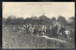 MEILLANT 18 - Un Déraillement Dans La Forêt De Meillant - Beau Plan / Train - A226 - Meillant