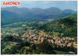 Carte Postale 68. Ranspach Vue Aérienne Trés  Beau Plan - Non Classés