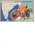 COLONIES FRANCAISES COMPTOIRS Des INDES - Cartes Postales
