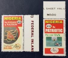 NIGERIA 2009 PAY YOUR TAX TAXE RARE MNH - Nigeria (1961-...)