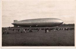 Aviation - Dirigeable Zeppelin LZ 127 à Genève - 1930 - Beau Document - Dirigeables