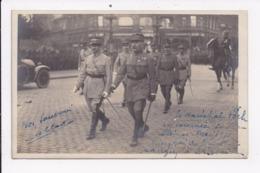 CP MILITARIA Le Marechal Foch En Tournée Reception Du Général Mangin à Wiesbaden - War 1914-18