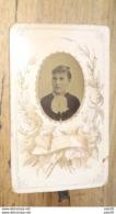Photo CDV Lowrie à Marseille - Ferrotype Femme Circa 1870 ...........MT-T71 - Foto's