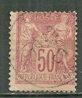 FRANCE Oblitéré 98 Type SAGE Groupe Allégorique Paix Et Commerce Type 2 - 1876-1898 Sage (Type II)