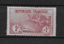 Orphelins N° 154 * TBE - Authentique Mais Regommé - Cote Y&T 2020 De 500 € - Nuovi