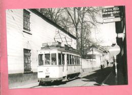 Photo  Tilleur  Halte  = TRAM   Ligne  61  Liège  Tilleul - Reproductions