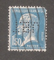 Perforé/perfin/lochung France No 181 J.B.T J. Bonnet-Thirion - Perforés