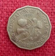 Nigeria - Federation - Elizabeth II - 1959 - 3 Pence - KM3  , Agouz - Nigeria