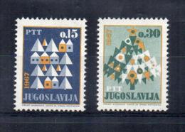 JUGOSLAVIA - 1966 - Natale - 2 Valori - Nuovi ** - (FDC17227) - 1945-1992 Repubblica Socialista Federale Di Jugoslavia