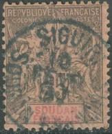 Soudan Français 1894-1900 - Siguiri / Soudan Français Sur N° 10 (YT) N° 10 (AM). Oblitérationde 1897. - Sudan (1894-1902)