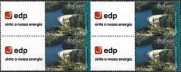 Portugal 2007 Selo Corporativo Da EDP Barragem, 1 Bloco De 4 Mnh - Neufs