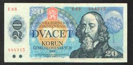 CZECHOSLOVAKIA 20  1988 - Tchécoslovaquie