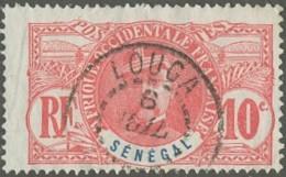 Sénégal 1887-1906 - Louga Sur N° 34 (YT) N° 35 (AM). Oblitération. - Senegal (1887-1944)