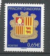 ANDORRE 2008 N° 651 NEUF** - Andorra Francese