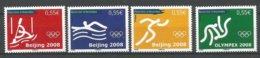 ANDORRE 2008 N° 658 A 661 4 TP NEUFS** - Andorra Francese