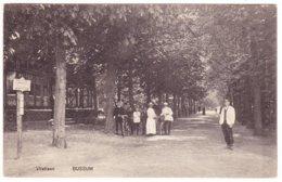 Bussum - Vlietlaan Met Volk - 1911 - Bussum