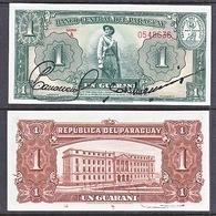 PARAGUAY  1952  UNC  1  GUARANI - Paraguay