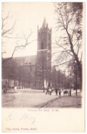 Bussum - R.C. Kerk Met Volk - Zeer Oud - Bussum