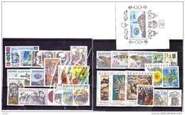 Année 1998 Neuve Complète /  Complete Year 1998 Mint / YT 259/285 + BF10 / Mi 300/328 + B10 - Slovakia
