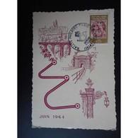 Carte Postale Premier Jour De 1964 - Cartas Máxima