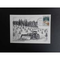 Carte Postale Premier Jour De 1965 - Cartas Máxima