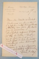 L.A.S 1901 Paul COLIN Peintre Né à Nimes - Palais Royal - Concours Troyon - Lettre Autographe à William Bouguereau - Autographes