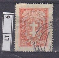 LITUANIA  1926Croce Assistenza, 2 C Usato - Lituania