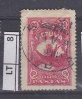 LITUANIA  1926Posta Aerea 20 C Usato - Lituania