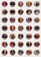 105 X Bonnie Raitt Music Fan ART BADGE BUTTON PIN SET 4-6 (1inch/25mm Diameter) - Music