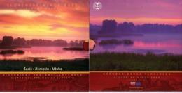 Slovakia 2005 Officiel BU Set, In Luxuous Folder I Historical Regions Of Slovakia: Zemplin - Eslovaquia