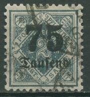 Württemberg Dienstmarken 1923 Mit Aufdruck 176 Gestempelt - Wuerttemberg