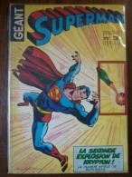 Superman Géant N°3-Trimestriel/ Sagédition, 1979 - Superman