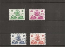Belgique ( TR 369/372 XXX -MNH) - Chemins De Fer