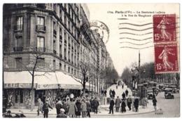 CPA 75 PARIS 15e Métropolitain Nord Sud Porte De Versailles Le Boulevard Lefèvre à La Rue De Vaugirard 1933 Ed. F.F. - Arrondissement: 15