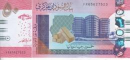 SUDAN 50 POUNDS 2018 P-NEW GLOSSY DARK COLOR TYPE UNC */* - Sudan