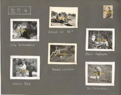 WW2 13x PHOTO ORIGINALE Soldat Allemands à PYLA SUR MER WN 4 Point Appui Arcachon GIRONDE La Teste De Buch FEUILLE ALBUM - 1939-45