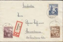 DR 675, 681, 682 MiF Auf R-Brief, Mit Stempel: Oedelsheim 15. 6.1939 - Briefe U. Dokumente