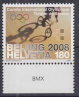 SCHWEIZ  ÄMTER, IOC 6, Postfrisch **, Olympische Sommerspiele Peking 2008 - Dienstpost