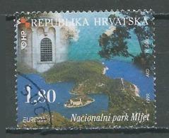 Croatie YT N°468 Europa 1999 Réserves Et Parcs Naturels Oblitéré ° - Europa-CEPT