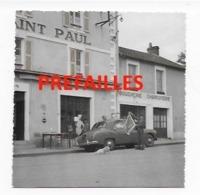44  PHOTO  PREFAILLES    HOTEL ST PAUL BOUCHERIE CHARCUTERIE VOITURE  TRES   BON ETAT 2 SCANS - Préfailles