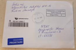Lithuania Litauen Cover Sent From Gelgaudiskis To Marijampolė 2019 - Lituania