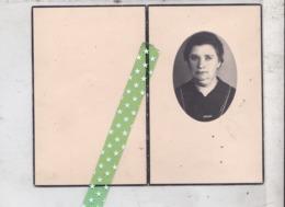 Eudoxie Deschrijver-Debleecker, Geboren Audenaarde 1886, Overleden Ronse 1951 - Décès