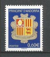 ANDORRE 2007 N° 633 ** - Andorra Francese