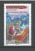 ANDORRE 2007 N° 636 NEUF** - Andorra Francese