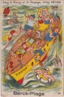 Bv - Carte à Système Complète BERCK PLAGE - Dans Le Roulis Et Le Tangage Vous Verrez (bateau) - Berck
